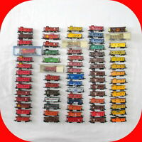 N Scale CABOOSE Variety lot -Atlas Bachmann Trix Life-Like etc - Cupola, Bay, EV