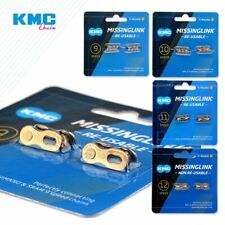 2 Pairs KMC Bicycle Chain Missing Link 6/12 Speed Reusable Chain Magic Clasp