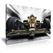 Ayrton Senna F1 World Championship Sports Canvas Wall Art Picture Print 76x50cm