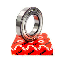FAG Deep Groove Bearing 40mm x 68mm x 15mm Double Shielded 6008.2ZR.C3