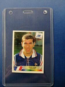 ZINEDINE ZIDANE WC France 98 #164 RARE Panini Sticker MINT