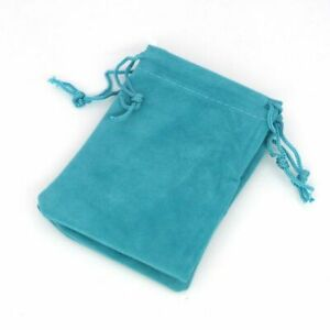 10 Pcs Velvet Drawstring Pouch Jewelry Packaging Necklace Gift Bags Beads Holder
