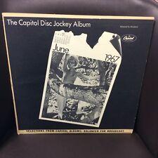 The Capitol Disc Jockey Album June 1967 LP Quik-Q VG+ Top Hit: Taco Holiday