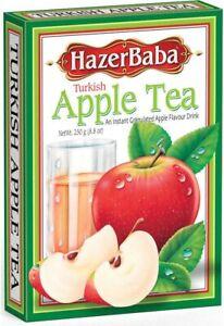 Hazer Baba Turkish Apple Tea 250g - Instant Powder Apple Flavour Drink Elma Cay