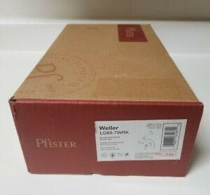 Pfister Weller LG89-7WRK Brushed NIckle Finish Shower Trim