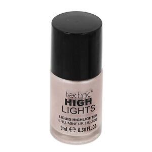 Liquid Highlighter Face Make Up Illuminating Cream Pink Glow Hi Lights Technic