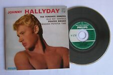 Johnny HALLYDAY (CD single 4 TITRES) TES TENDRES ANNEES  - COMME NEUF