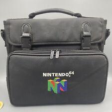 Vintage Genuine Nintendo 64 Padded System Soft Carrying Case Travel Bag for N64