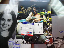Tommy Lee PSA/DNA COA auto Motley Crue Autographed GOLD INK Signed 8x10