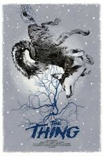 The Thing by Greg Ruth Nightfall variant limited edition poster not mondo