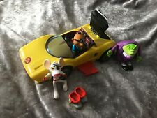 💖Danger Mouse & Car with Baron Greenback & Penfold excellent condition!!💖