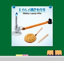 Re-Ment Miniature Science Room set # 8 Making a sponge toffee