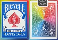 Rainbow Rider Back V2 Bicycle Playing Cards Poker Size Deck USPCC Limited Custom