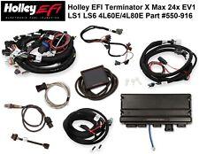 Holley Terminator X Max 550 916 Mpfi Kit Ls1ls6 24x Ls Engine 4l60e4l80e Trans