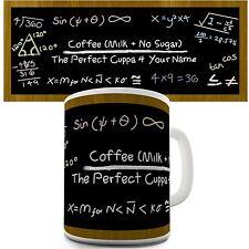 Coffee Recipe Personalised Printed Mug