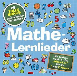 Mathe-Lernlieder von Marie & Finn    NEU & Eingeschweisst!