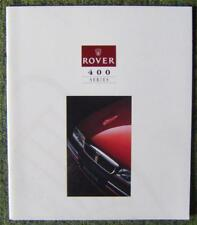 ROVER 400 SERIES CAR SALES BROCHURE FOR 1994 REF- 4526