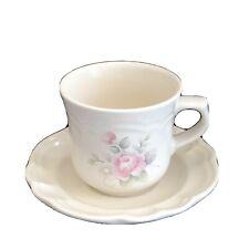 PFALTZGRAFF Tea  Rose Cup And Saucer Set EUC