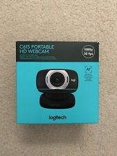 Logitech C615 Portable HD 1080p 30fps WebCam - Black Brand New In Box
