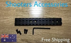 140mm 13 Slot Rail Accessorie Rail, Aluminum,Mdt Lucky13 Wfa1 Oaf Chassis Sa#156
