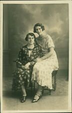 """Two Ladies Studio """"Alice with her daughter Winnie""""      AJ.708"""