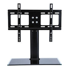 Universal Table Top Pedestal TV Stand With Bracket LCD LED Swivel Height Adjust D800 26 32inch