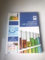 Hayden McNeil Student Laboratory Notebook, Permanent Binding Carbonless 100 Sets