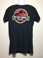 TRUE VTG 1996 JURASSIC PARK MOVIE FILM THE LOST WORLD USA MADE T SHIRT SIZE M