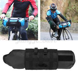 7L MTB Cycling Bag Bicycle Bike Front Handlebar Pannier Saddle Bag Waterproof