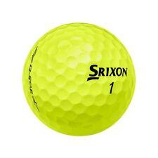 36 Srixon Yellow Q Star AAAAA Mint Used Golf Balls Free Tees