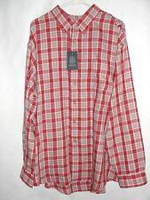 Mens Arrow Long Sleeve Plaid Shirt - Size XXL