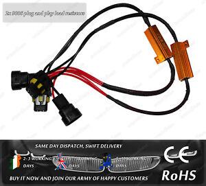 Cree LED HB4 9006 Headlight Fog OBD CanBus Warning Error Canceller Resistors
