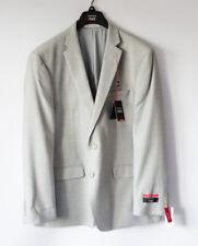 Van Heusen Gray Grey Flex Slim Fit Suit Jacket Blazer - 46 R - NWT NEW 46R