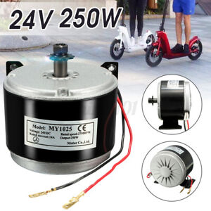 300W Elektro Motor Bürstenmotor Antriebsmotor 2750RPM 24V 17A Für E-Scooter