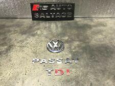 2002 VW PASSAT 1.9 TDI 4DR SALOON REAR TAILGATE BOOT BADGE LOGO EMBLEM