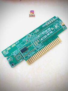 SNES cartridge PCB remplacement LoRom / HiRom - M27c4001 / M27c801 PRE-ASSEMBLED