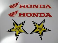 Honda & Rockstar energy stickers decals - PLUS 2 FREE stickers