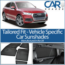Audi Q5 FY 5dr 2017 On UV CAR SHADES WINDOW BLINDS PRIVACY GLASS TINT BLACK