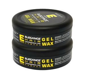 2 x Elegance Haarwachs Haarwax Hair Pomade Gelb 140g NEU&OVP