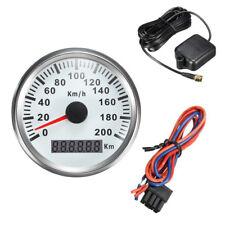 Waterproof Digital Stainless GPS Speedometer Car Truck Gauge 200Km/H 85mm Pretty