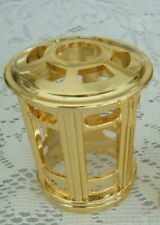 Catalytic Fragrance Burner Decorative Crown/Top-Gold-Fits Lampe Berger & Other