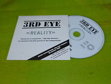 3RD EYE - REALITY !!!!!!!!!!!!!!! !!!RAP OLD SCHOOL!!!!!!!RARE CD PROMO !!
