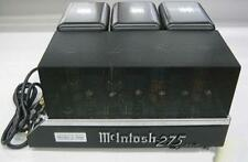 Mcintosh MC-275 MC275 Tube Power Amplifier Amp for Audio Sound Used Ex++