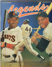 San Francisco Giants-Mitchell,McCovey,Mays - Legends Sports Magazine Spring 1990