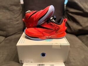 """NEW 2K20 NIKE ADAPT BB 2.0 OG RED """"CHICAGO"""" GAMER EXCLUSIVE AUTO LACE SIZE 9"""