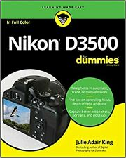 Nikon D3500 For Dummies Paperback Book