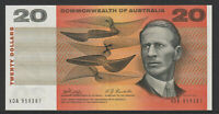 Phillips / Randall 1968 : General Prefix C of A $20 Australian Paper Banknote,