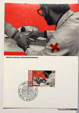 LIECHTENSTEIN  N° 49 HOMME ET TRAVAIL   Carte Postale Maximum  LIE29