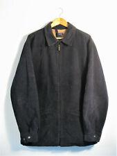 GANT   Men's SOUTHAMPTON JACKET Blue Twill Cotton Fleece Lined Long Jacket   L