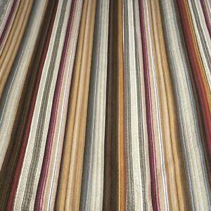 Retro Lodge Brown Cotton Striped Twin Bedspread Connors Darlene 68x86